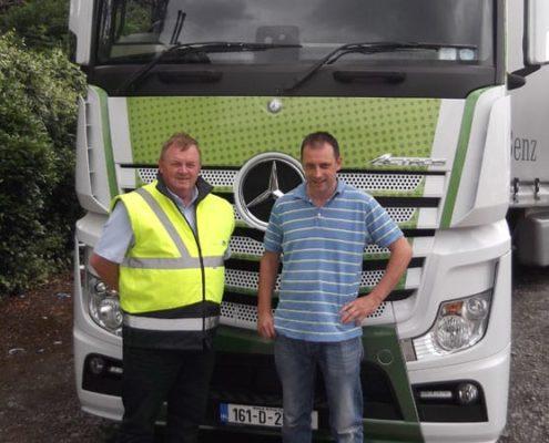 Mark Dodd training Truck Driver Training; Fleet Awards