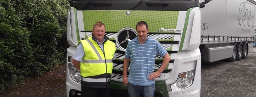 Mark Dodd training Truck Driver Training; Fleet Awards